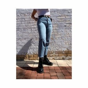 BDG UO high-waisted button up Slim Straight jeans